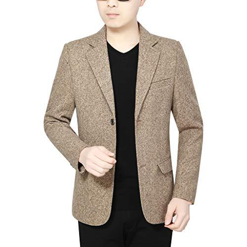 Blazer Herren Stilvolle Casual Solid Blazer Business Hochzeit Blazer Party Outwear Mantel Anzug Tops