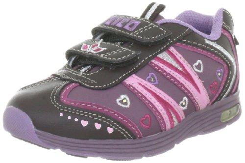 Lico Fancy V 300060 Mädchen Sneaker Violett (lila/braun/rosa)