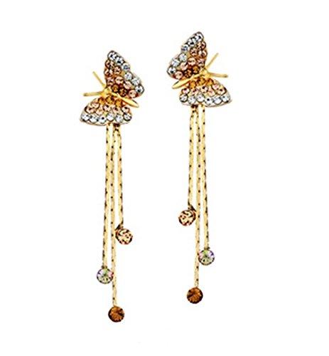 placcato-oro-farfalla-tessle-dangel-orecchini-orecchini-lunghi-bellissimi-x-natale-regalo-egg044