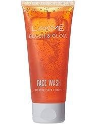 Lakme Blush and Glow Peach Gel Face Wash, 100g
