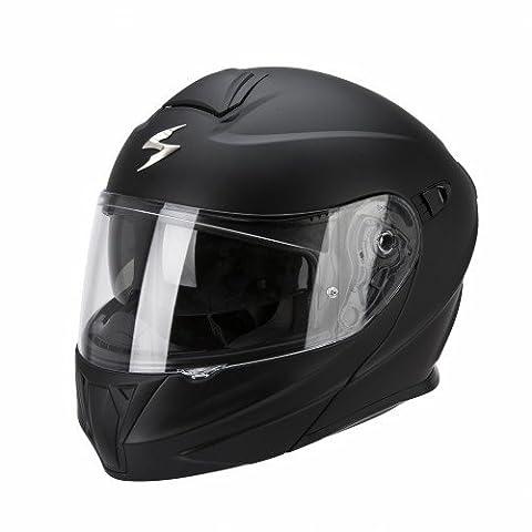 Scorpion Casque Moto Exo-920 Solid, Noir Mat, Taille M