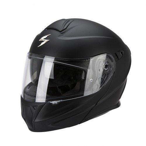 Scorpion Casque Moto Exo-920 Solid, Noir Mat, Taille XL