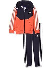 adidas Mädchen Yg Hood Pes Trainingsanzug