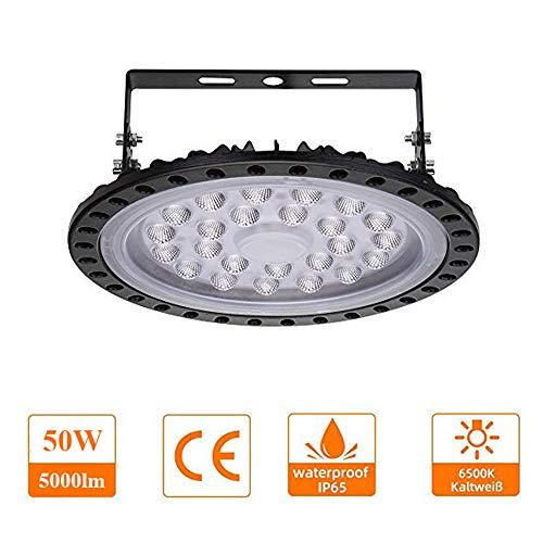 UFO LED Iluminación,techo de cristal 50W 100W 200W 300W 500W Brillante Iluminación...