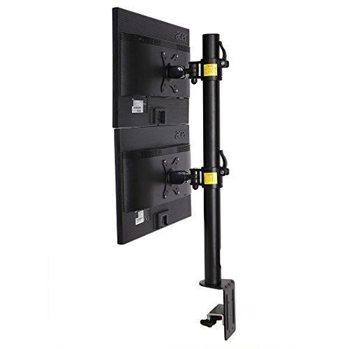 fleximounts d1dv Full Motion Vertikal Dual Schreibtisch Mounts Ständer für 2Bildschirme bis 68,6cm LCD Monitor -