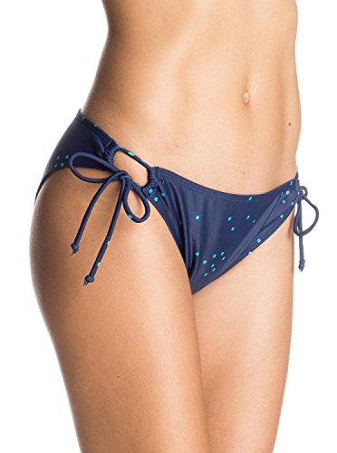 Roxy Damen Bikini Hose blau S (Damen Hosen Lowrider)