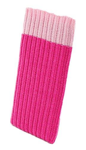 iPhone 6 / 6s / 7 PLUS Handysocke Strick-Tasche in pink Original smartec24® Rundumschutz dank dicker dicht gestrickter Wolle passt sich dank Strech perfekt dem jeweiligen Smartphone an