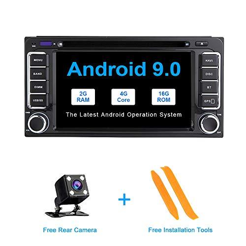ZLTOOPAI Android 9.0 autoradio für Toyota Land Cruiser 100 200 Prado 120 150 Rush Corolla hiace Yaris hilux Stereo GPS Navigation Auto Media Player doppel din Kopf Einheit