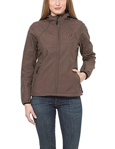 Ultrasport Women's Estelle Softshell Jacket - Brown,