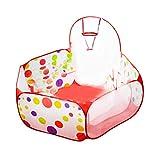 HONGIRT Polka DOT Pattern Pieghevole Baby Kids Play House Tenda Tenda da Pallacanestro per Bambini Outdoor & Indoor Sports Play Toys (Colore: Multicolor) 0.9M