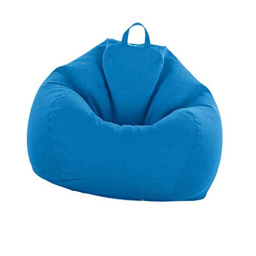 FLAMEER Große Sitzsackhülle Sitzsack Sitzkissen Sitzsäcke Hülle - Himmelblau