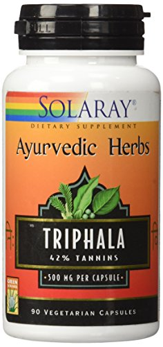 Triphala 90 Capsulas Solaray