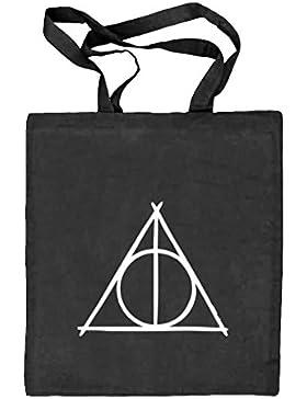 Shirtstreet24, Harry Triangle, Natur Stoffbeutel Jute Tasche (ONE SIZE)