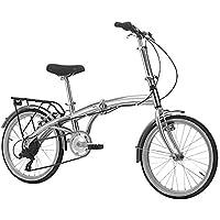 B4C Bici pieghevole in alluminio 6 velocita