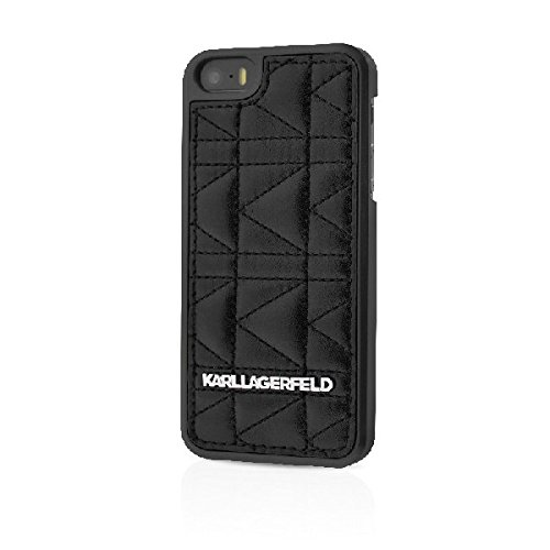 Karl Lagerfeld-Custodia rigida per Apple iPhone 6, colore: nero