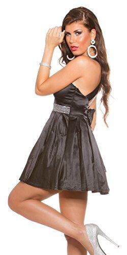 In-Stylefashion - Robe - Femme noir Schwarz 10 Schwarz