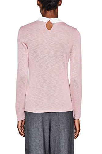 ESPRIT Damen Langarmshirt Rosa (Old Pink 680)