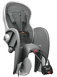Polisport Kinder Fahrrad-Kindersitz, grau,61006200