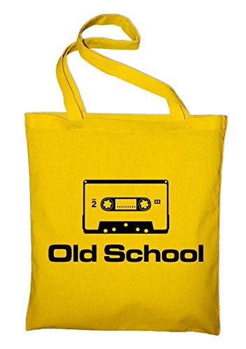 Old School Cassette Tape 80s Jute Bag - Choice of Colours