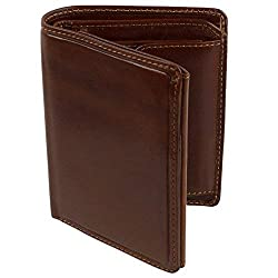 Visconti Mens Vicenza Italian Leather Wallet in Tan by Boxed New Sylish