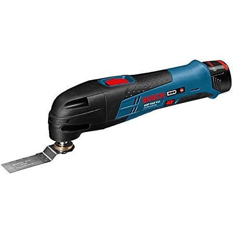 Bosch GOP 10,8V Li - Cortador universal (Ión de litio, 10,8V, 1,3 Ah, 1 kg) Negro, Azul