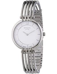Boccia Damen-Armbanduhr XS Analog Quarz Titan 3213-01
