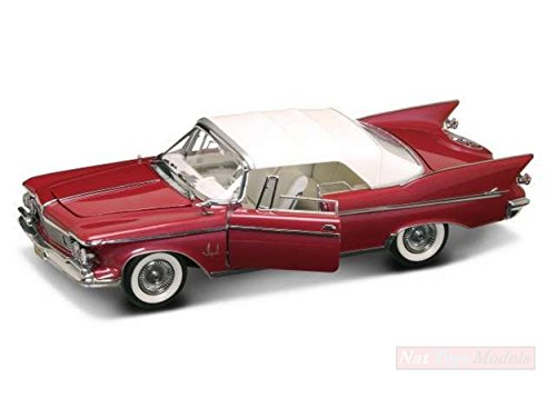LUCKY DIECAST LDC20138R CHRYSLER IMPERIAL CLOSED CONVERTIBLE 1961 RED/WHITE 1:18 - 1961 Imperial