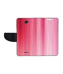 KolorEdge Printed Flip Cover For HTC Desire 516 - Multicolor(50KeMLogo8102HTC516)