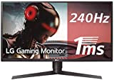 LG 27GK750F-B 68,58 cm (27 Zoll) UltraGearTM Full HD Gaming Monitor (240Hz, 1ms MBR, LED, AMD Radeon FreeSync, DAS Mode), schwarz