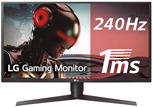 LG 27GK750F-B - Monitor Gaming FHD de 68,6 cm (27') con Panel TN (1920 x 1080 píxeles, 16:9, 1 ms con MBR, 240Hz, FreeSync, 400 cd/m², 1000:1, NTSC 72%, DP x1, HDMI x2, USB-A 3.0 x3) color negro