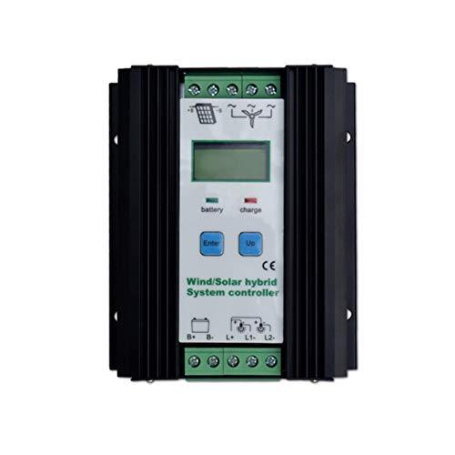 600 Watt Wind Solar Hybrid Controller 400 Watt windkraftanlage 200 Watt Solarpanel Laderegler 12 V / 24 V Automatische Batterie Controller mit Großen LCD Display Solarladeregler - 12-volt-systemsteuerung