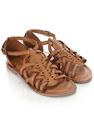 Monsoon Femmes Spartiates Houston Taille Chaussures 38 Taupe