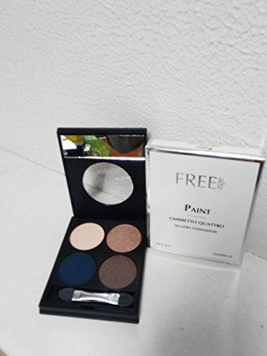 Augenschminke kompakte 4 Farben - PAINT - Quadra Eyeshadow FREEAGE -03N