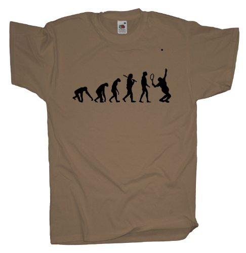 Ma2ca - Evolution - Tennis T-Shirt Khaki
