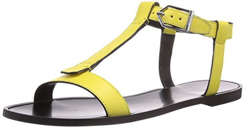 Hugo Serine 10180497 01, Sandales femme Jaune - Gelb (Light/Pastel Yellow 744)