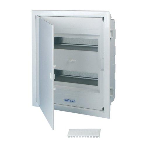 REV Ritter 0515502555 Kleinverteiler Unterputz mit Tür 2-reihig, weiß