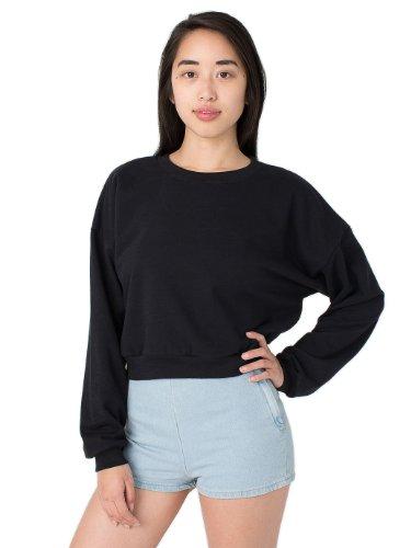 american-apparel-california-fleece-cropped-sweatshirt-black-one-size