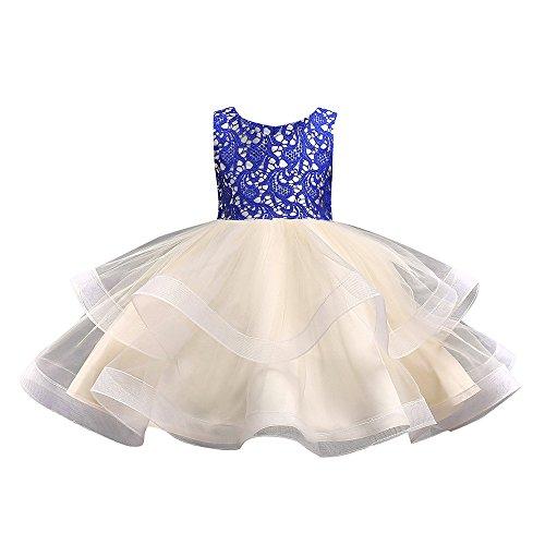 Pageantry Prinzessin Kleider Baby Mädchen Brautjungfer Pageant Kleid Geburtstag Party Hochzeitskleid Ärmellos Samt Kleid Farbe Hell Blau Mit Perlen Tüllrock Festlich