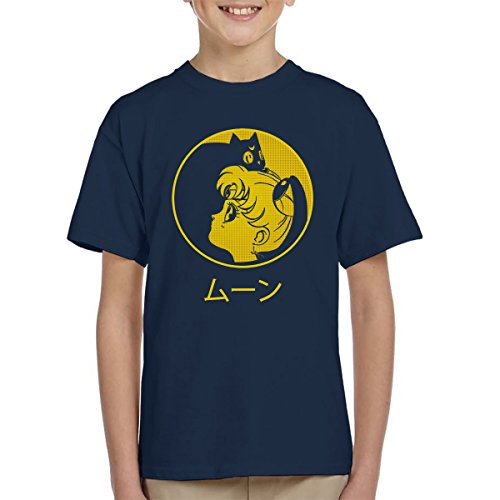 Camiseta niños Sailor Moon - Luna & Usagi