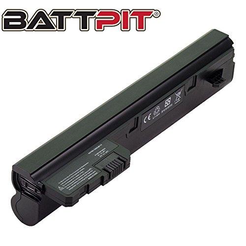 Battpit Laptop Akku für HP Compaq 537626-001 537627-001 HSTNN-LB0C HSTNN-I70C HP Mini 110 110-1110SA 110-1115SA Compaq Mini 110c 110c-1010EA 110c-1110SA - [6 Zellen/4400mAh/48Wh]