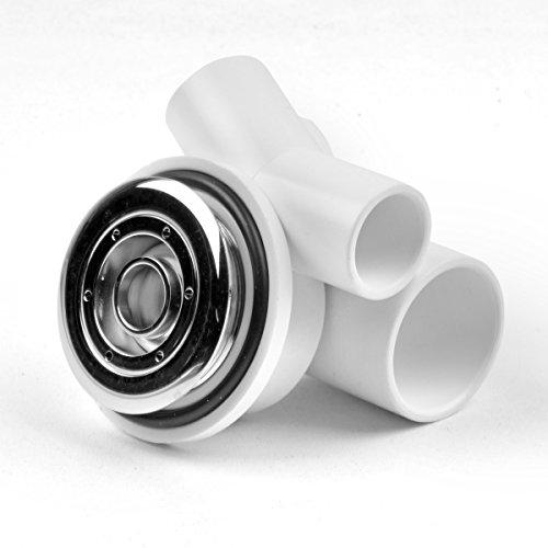 AQUADE Jet Düse Wasserdüse für Whirlpool Jacuzzi Durchmesser: 50mm / Metall verchromt (Jet-whirlpool 50)