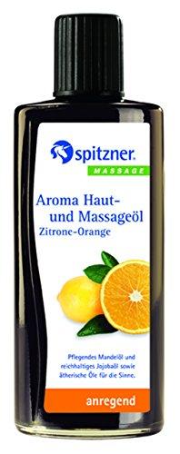 SPITZNER Haut- u.Massageöl Zitrone Orange 190 ml Öl