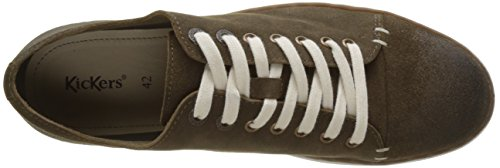 Kickers Firstine, Baskets Homme Marron (Marron Clair)