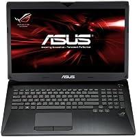 ASUS ROG G750JW-DB71 ordenador portatil - Ordenador portátil (Portátil, Negro, Concha, 2,4 GHz, Intel Core i7-4xxx, i7-4700HQ)