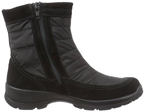 Legero Trekking, Bottes de neige de hauteur moyenne, doublure chaude femme Noir - Noir (00)