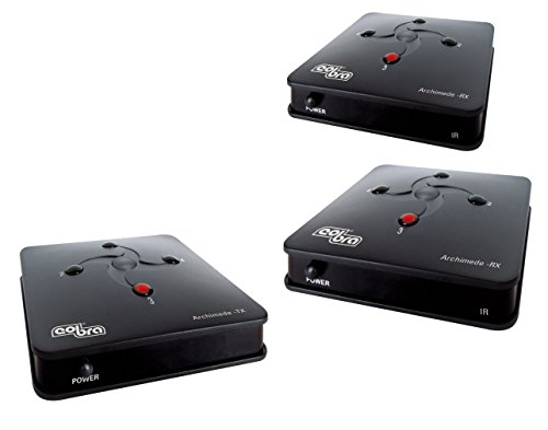 Cobra Archimede Twins, Ripetitore segnale AV 2.4 GHz, 4 canali PLL, 2 ricevitori