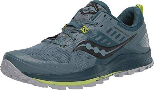 Saucony Peregrine 10 Zapatillas para Correr sobre Camino de Tierra o Montaña con Soporte Neutral para Hombre Celeste 42.5 EU