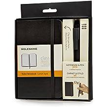 Moleskine Clásica - Set de cuaderno y bolígrafo