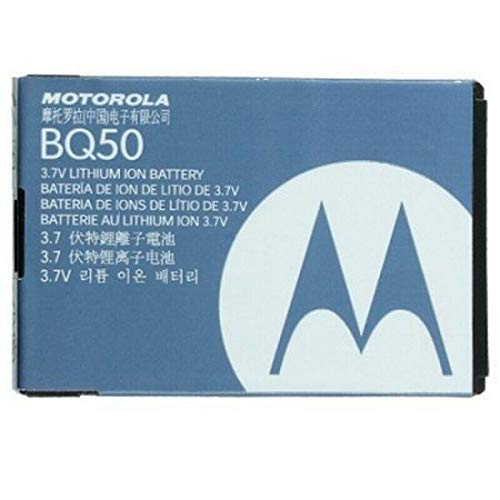 Motorola Batteria Litio originale BQ50 per V360 W156 W230 W375 W377 W175 VE240