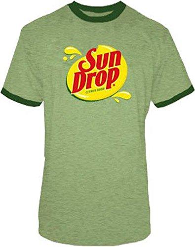 Sun Drop Citrus Soda grün Kostüm Herren T-Shirt (XX-Large)